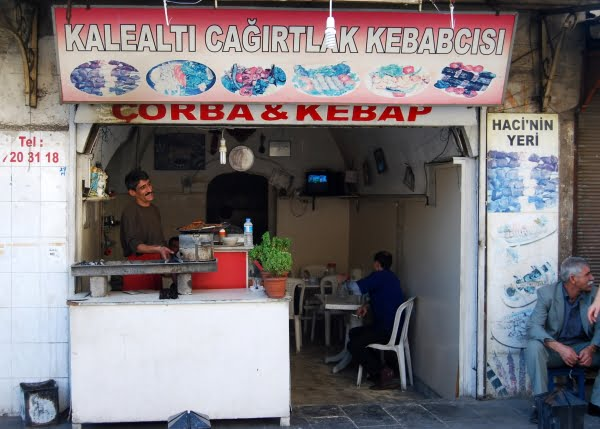 Kebab and soup seller in Gaziantep