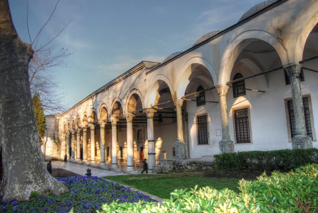 Courtyard of the Topkapi palace
