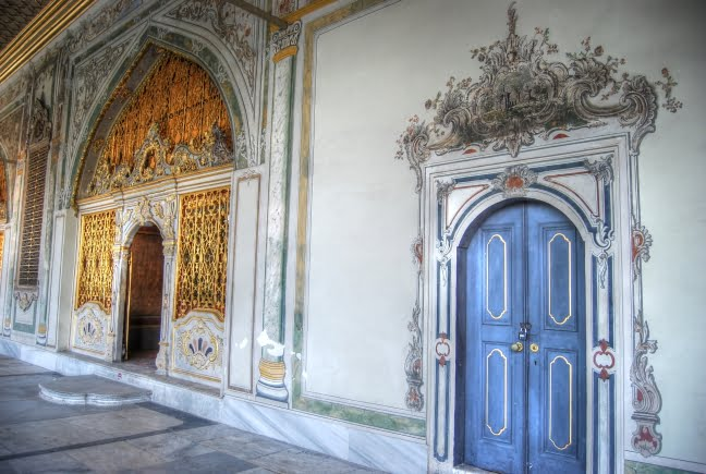 Doors of Istanbul palace