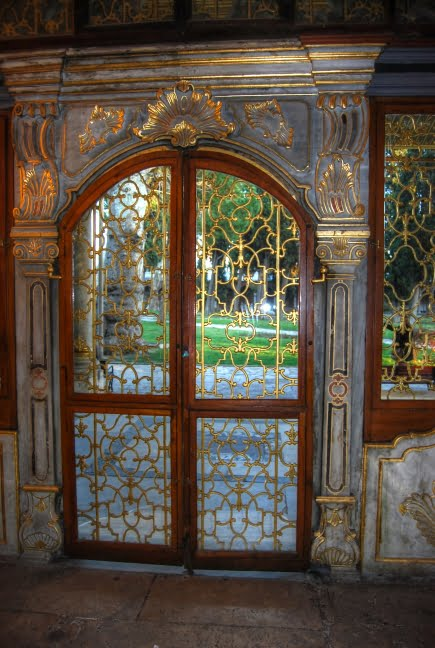 Doors of the harem in topkapi