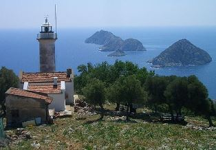Gelidonia lighthouse