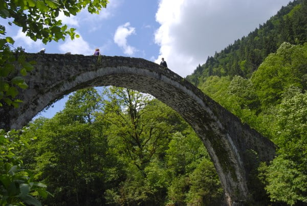 Ottoman stone bridge in the Firtina valley