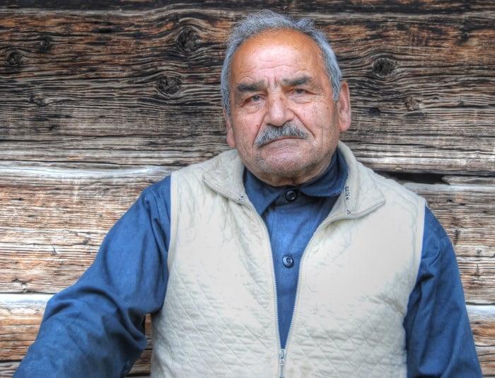 Old man of demir kapi plateau