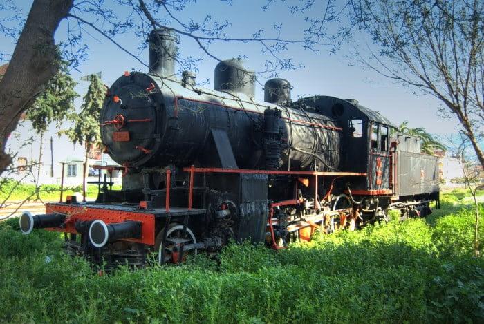 Old train in Selcuk Turkey