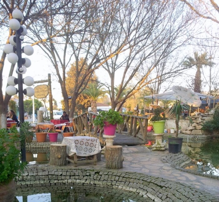 Selcuk tea garden