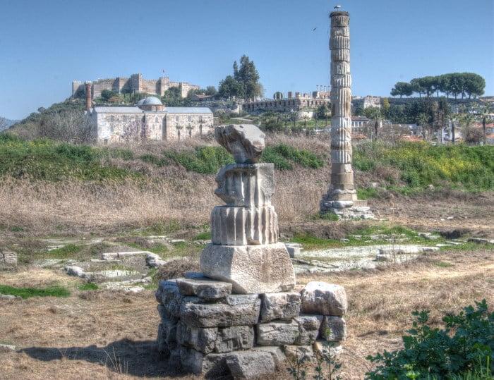 Temple of artemis, selcuk, turkey