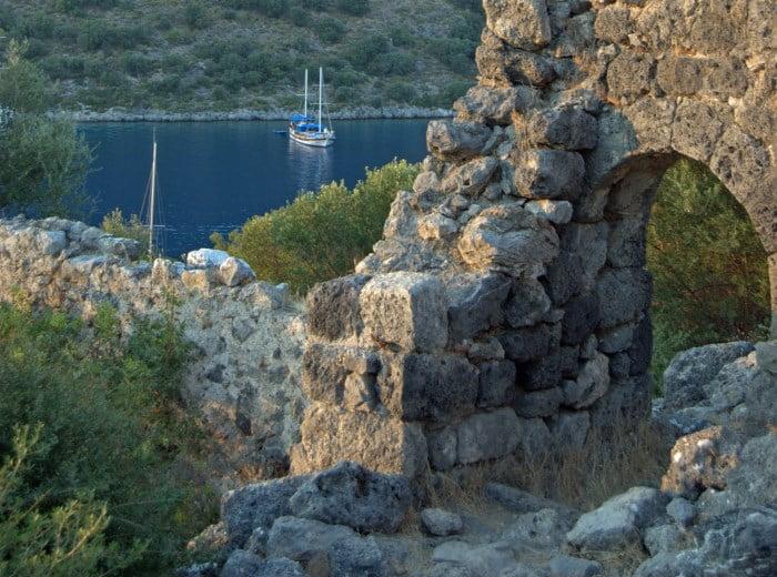 Gemiler Island Fethiye Turkey