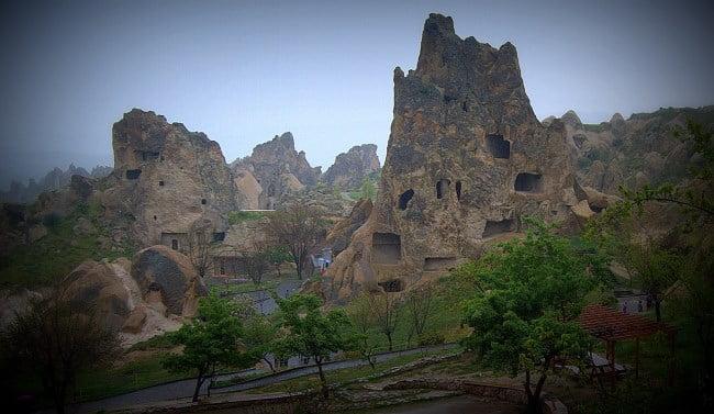 Goreme Open Air museum in Cappadocia, Turkey