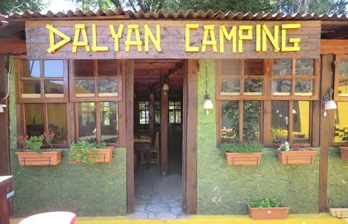 Caravan and camping sites in Turkey