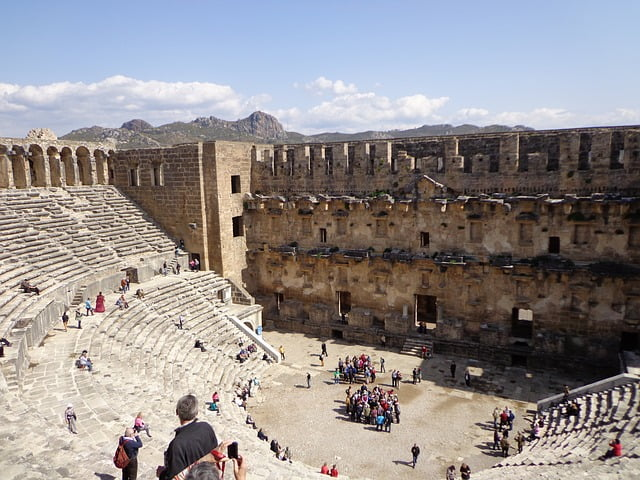 Aspendos ancient theatre