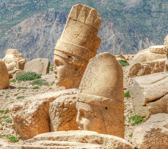 ancient Heads of Mount Nemrut