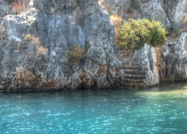 Kekova ancient ruins