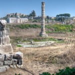 temple of artemis at ephesus selcuk turkey