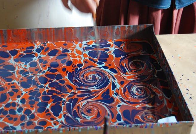Ebru painting