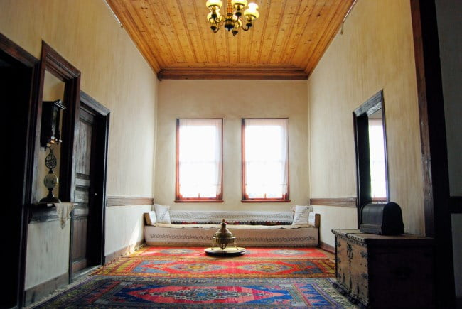 Ottoman houses interior