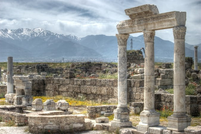 Ancient city of Laodicea