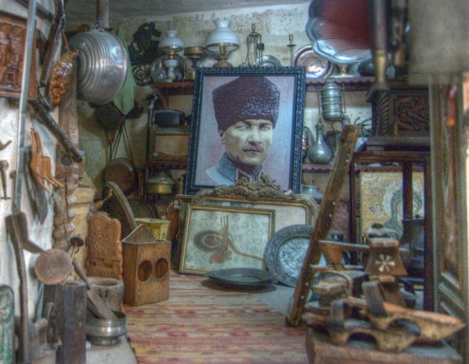 The house of Memories in Ortahisar Cappadocia