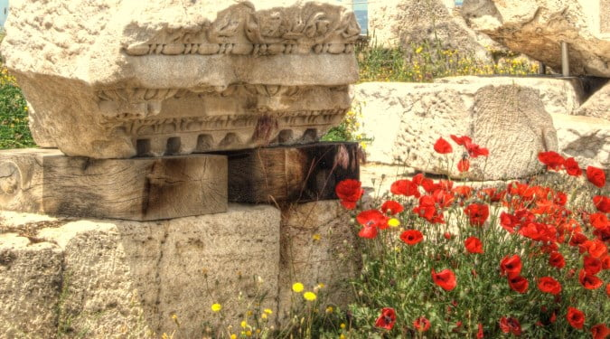 Turkey and the ruins of Laodicea
