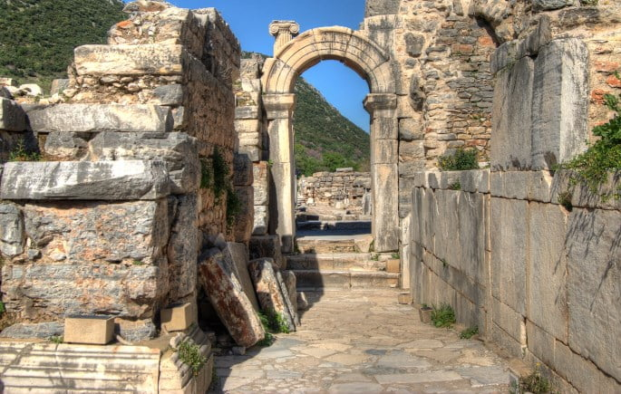 Bouleuterion of Ephesus ancient city