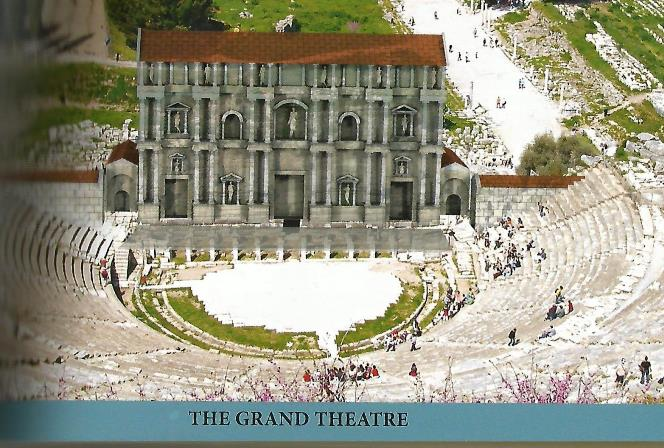 Grand theatre of Ephesus