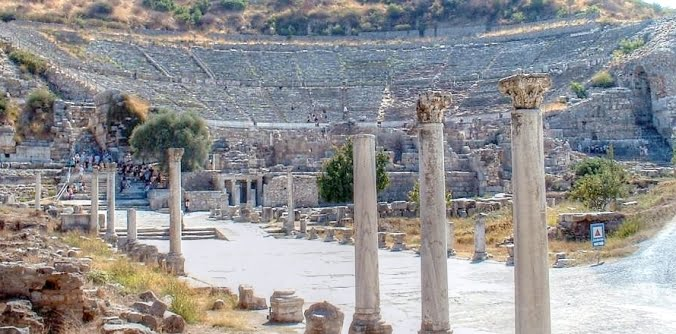 Ephesus theatre Turkey