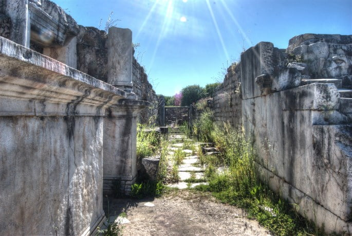 Aphrodisias city Turkey