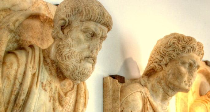 Aphrodisias museum in Aydin, Turkey