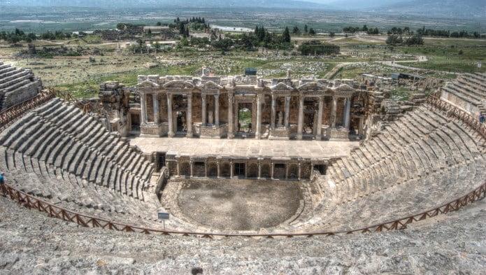 Roman theatre at Hierapolis Pamukkale