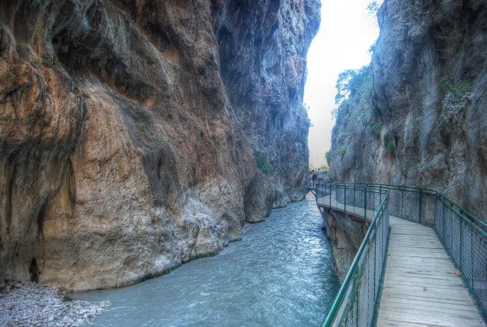 Ущелье Сакликент Фетхие Турция