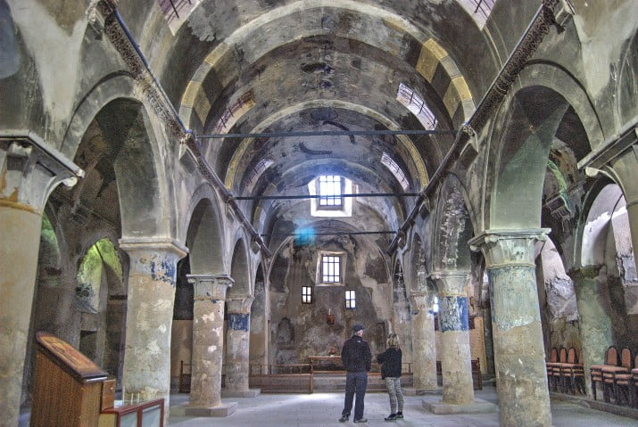 Saint Nicholas Church Mustafpasa Cappadocia Turkey