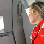 Be nice to flight attendants