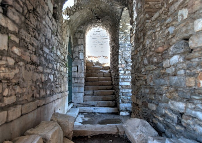 Iasos ancient ruins Turkey
