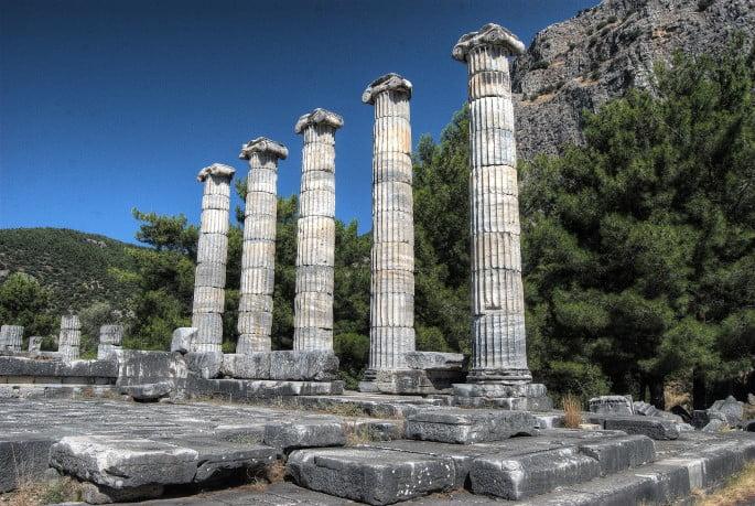 Priene Temple Athena