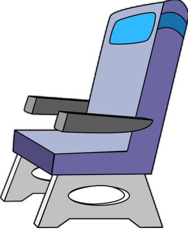 Airplane Etiquette Arm Rest