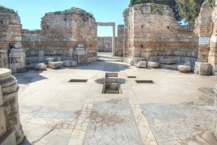 Saint Johns Basilica Ephesus Selcuk