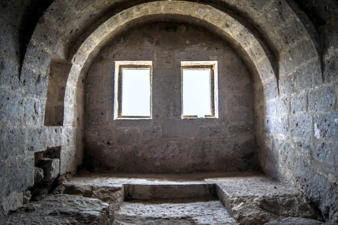 Yuksek monastery Cappadocia Turkey
