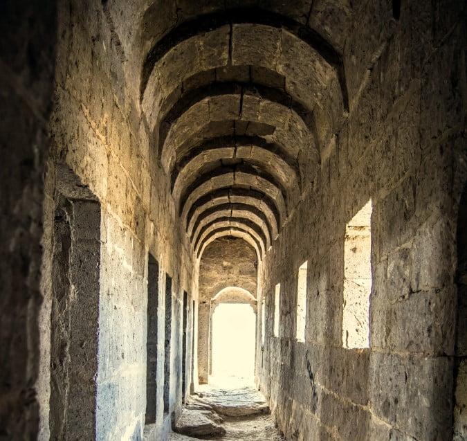 Yuksek monastery Cappadocia