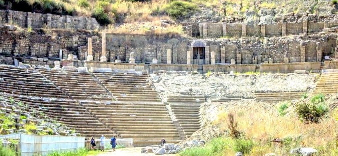 Magnesia Stadium in Turkey