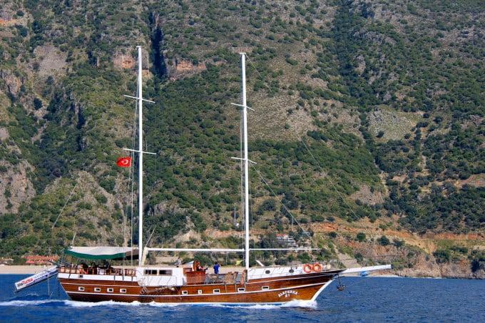 Olympos to Fethiye