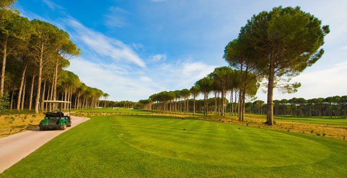 Golfing holidays in Turkey